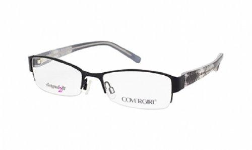 COVER GIRL Eyeglasses CG 0432 001 Black - Eyewear Covergirl