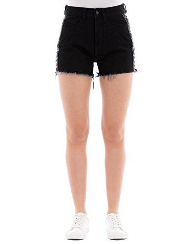 Shorts Donna CWYC001R183770516710 Nero Cotone Burlon Marcelo Rnvx6UR