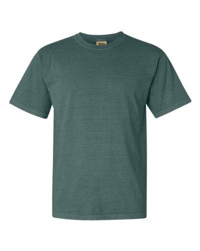 - Comfort Colors Mens Heavyweight T-Shirt (2XL) (Blue Spruce)