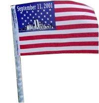 - Americas & Americas 9-11-01 Commemorative Antenna Flag 4