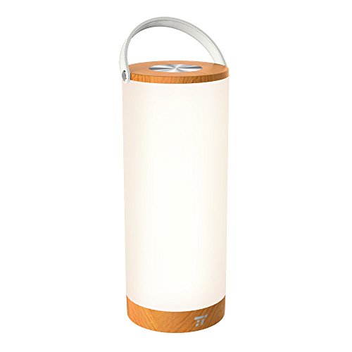 TaoTronics Touch Lamp Table Lamps for Bedroom Living Room Dimmable Bedside Lamp Portable Night Light, Camping Lights, BBQ Light, Rechargeable Lamp with 4400mAh Internal Battery