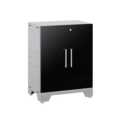 (NewAge Products Performance 2.0 Base Cabinet in Glossy Black, 53502)