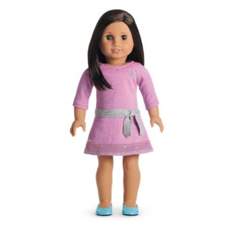 American Girl – Truly MeTM Doll: Medium Skin, Dark Brown Hair, Brown Eyes DN62