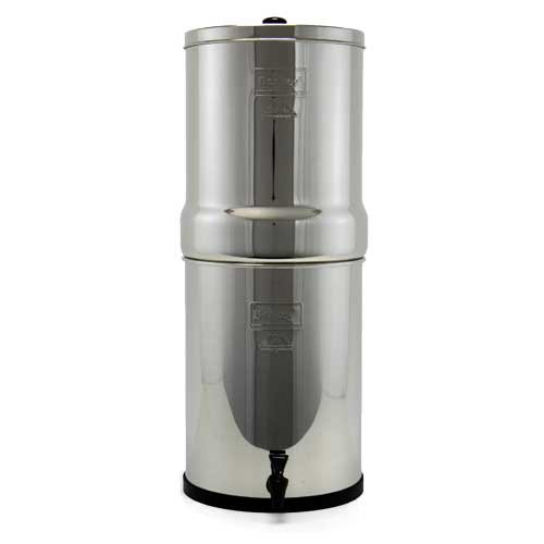 Crown Berkey Water Filter With 2 Black and 2 PF2 Fluoride...