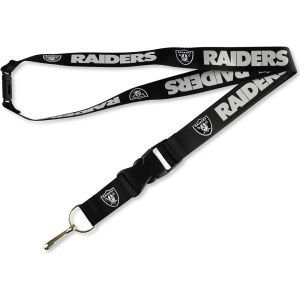 "NFL Oakland Raiders Lanyard with Detachable Buckle, 3/4"" by Wincraft"