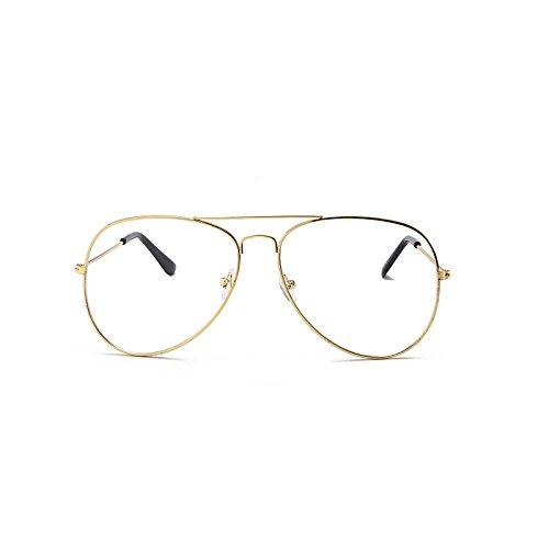 Trend Frame de Soleil pour Fashion Sunglasses Box Silver Lunettes Black conducteur Lunettes Soleil de Gold de Couleur Lentilles Hommes Gray Film Classiques Générique xpCBnz0zF