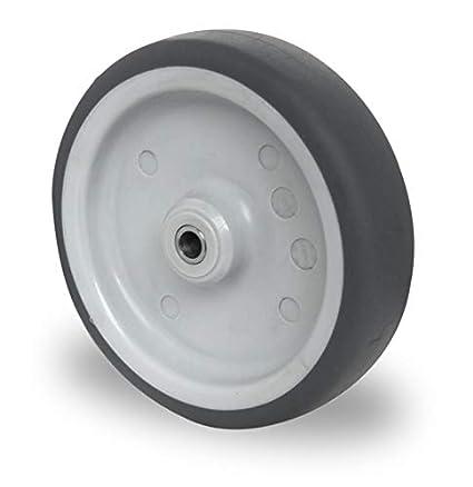 cascoo empotrable Cilindro de 150 mm eje o rollo t.p.e. Rodamiento de deslizamiento transporte ruedas ruedas
