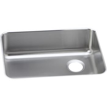 Elkay Lustertone ELUH231710R Single Bowl Undermount Stainless Steel Kitchen Sink - Lustertone Rectangular Undermount Sink