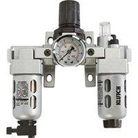 Klutch Air Filter-Regulator-Lubricator Combo - 1/4in., 18 CFM by Klutch
