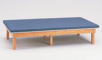 Upholstered mat platform 6'x8' CLINTON CLASSIC WOOD MAT PLATFORMS For Physical Therapy - Exercise Equipment - Fitness Item# - Platform Mat Upholstered