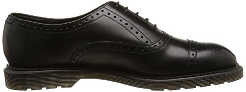 Smooth Dr 16774001 Black Polished Uomo Nero Martens Brogue OOTw0r