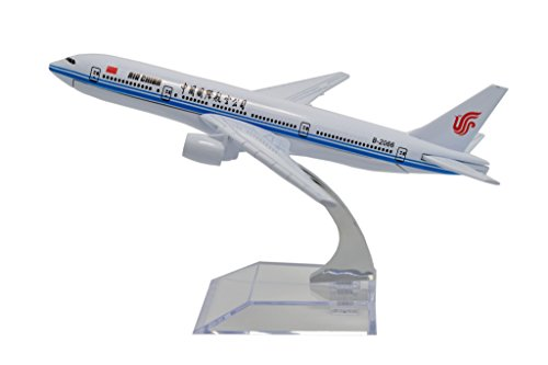 TANG DYNASTY(TM) b777-200 Air China Metal Airplane Model Plane Toy Plane Model