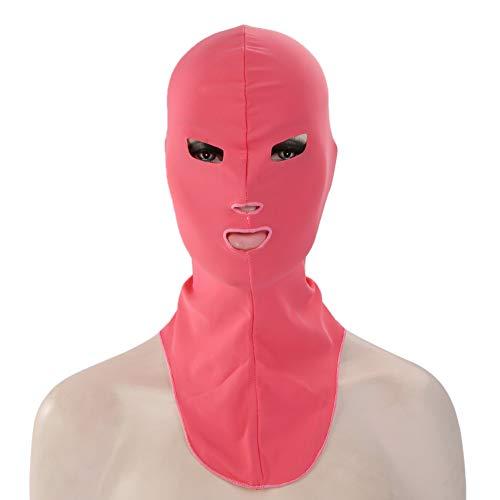 Guoainn Unique Facekini Pool Mask Head Sunblock UV Sun Protection Swim Dive Face Mask -
