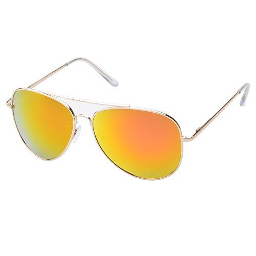 MLC Eyewear ® 'Knoxville' Double Bridge Aviator Fashion Sunglasses in - Ray Bans Boots
