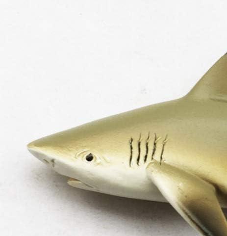 zhenxin Imán de refrigerador  tiburón imán de Nevera  3D niños como Peces Marinos decoración Pegatina magnética 4