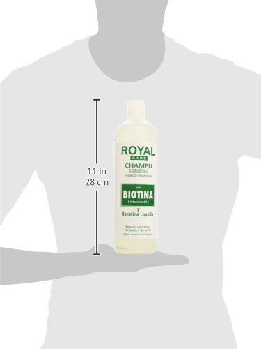 Anian Royal Care Champú Cosmético Biotina y Keratina - 1000 ml: Amazon.es: Belleza