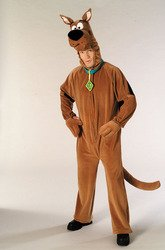 Plush Scooby Doo Adult Costume -