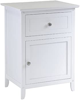 Winsome Wood Night Stand/Accent Table Drawer Cabinet Storage