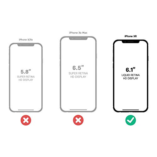 OtterBox SYMMETRY CLEAR SERIES Case for iPhone XR - Retail Packaging - CLEAR by OtterBox (Image #9)