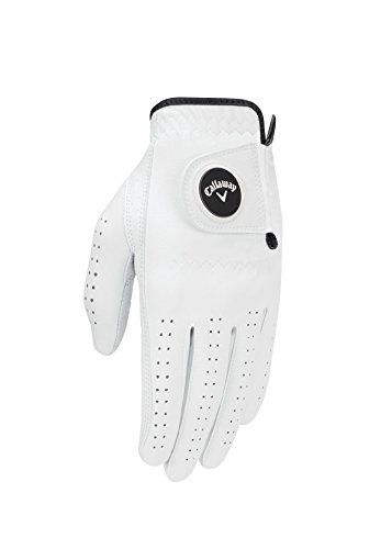 Callaway 2017 Optiflex Glove Mens Left White Large