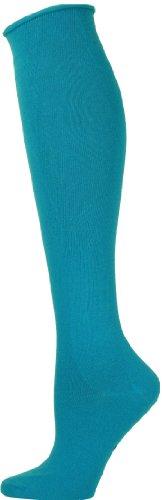 Ozone Women's High Zone Sock,Turquoise, -