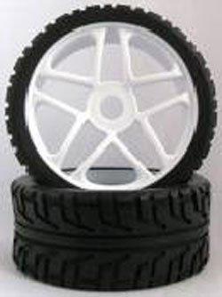 HSP - Ruedas Coche RC Buggy 1/8 Universales blancas - SST180087: Amazon.es: Juguetes y juegos
