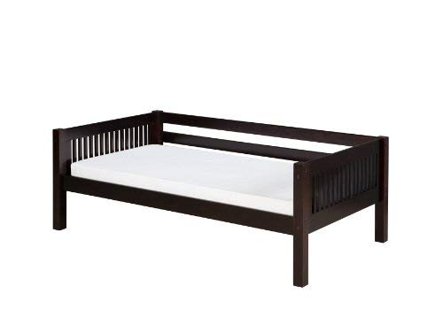 Camaflexi Mission Style Solid Wood Day Bed, Twin, Cappuccino