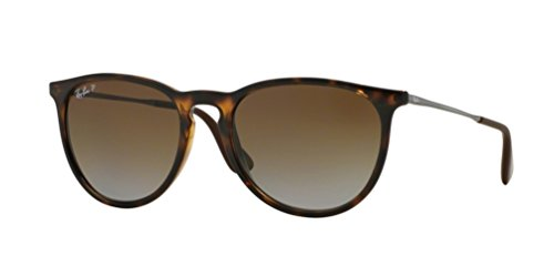 Ray-Ban RB4171 710/T5 Erica Tortoise Frame / Polarized Brown Gradient - Ray Ban Tortoise Aviators