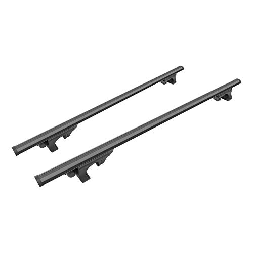 CURT 18118 53-3/8-Inch Black Aluminum Universal Roof Rack Cross Bars, 2-Pack (Aluminum Universal)
