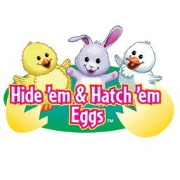 Easter Eggs - Hide 'Em and Hatch 'Em Eggs (6 Pc Value Pack) - Watch Them Hatch Like Magic Six Different Pets!