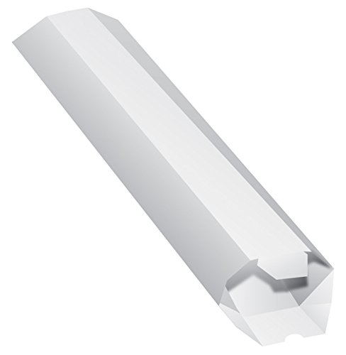 Quality Park Expand-on-Demand Mailing Tubes, 2 x 15 Inches, White, 1 Tube ()