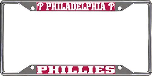 (FANMATS MLB - Philadelphia Phillies License Plate Frame)