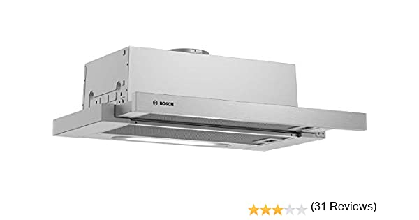 Bosch Serie 4 DFT63AC50 - Campana (360 m³/h, Canalizado/Recirculación, E, D, D, 68 dB): Amazon.es: Grandes electrodomésticos