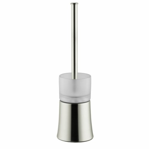 Hansgrohe 41536820 Axor Citterio Toilet Brush With Holder Floor Version, Brushed Nickel by AXOR