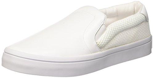 con Courtvantage Plataforma Ftwwht Ftwwht para Slip Ftwwht Mujer Adidas Sandalias Blanco qUB1fqt