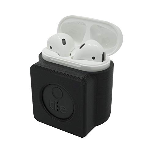 Kube3DP Case Cover Tracker Compatible with: Apple AirPods 1 & 2 and Tile Sticker. Earphone Protective Cover, Security…