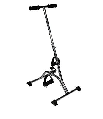 Drive Medical Exercise Peddler With Handle Silver from Drive Medical