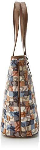 Capazo Tous Multicolor L 5x38 15x29 Cm Kaos Mujer Totes w X Vichy azul marrón Para Bolso H Mediano dSqw4S