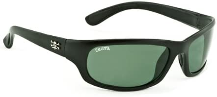 ab476615a6d1 Amazon.com: Calcutta Steelhead Sunglasses (Black Frame, Blue Mirror ...