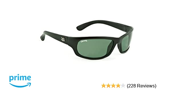 99514c3934f4 Amazon.com: Calcutta Steelhead Sunglasses (Black Frame, Blue Mirror Lens):  Sports & Outdoors