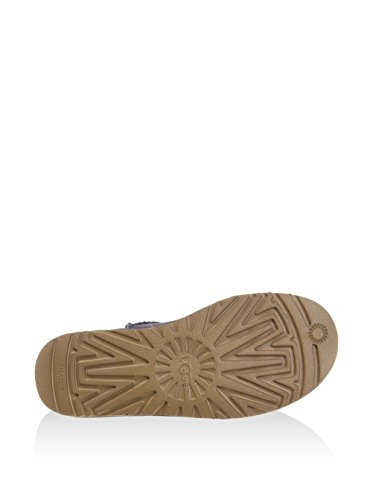 UGG Australia Mini Classic Leather, Zapatillas Altas para Mujer Nightfall