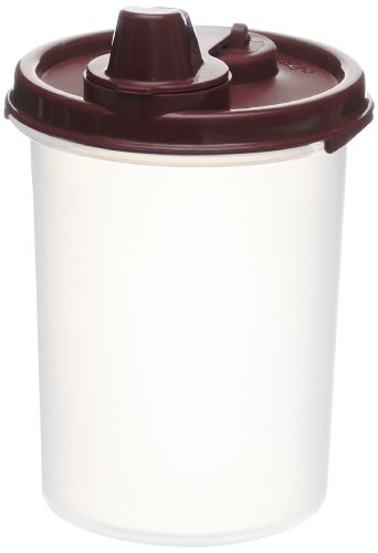 Signoraware Easy Flow Plastic Container, 450ml, Maroon