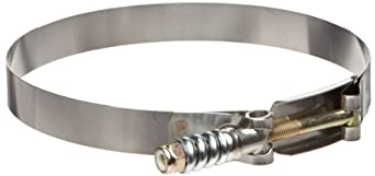 """Murray Steel Spring-Load Hose Clamp with Steel Screw, 5.78""""-6.08"""", 3/4""""W, 50-60 lbs Torq (Pack of 5)"""