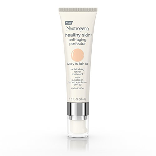 Neutrogena Healthy Skin Anti-Aging Perfector SPF 20, 10 Ivory Fair, 1 Fl. Oz