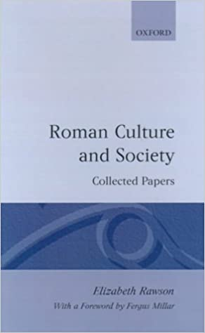 Roman Culture and Society: Collected Papers