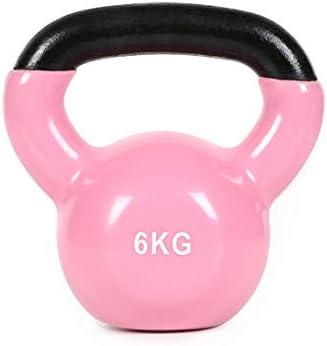 Suitable for Gym Fitness Weight Training 12kg 4kg 2.26kg 10kg Solid Cast Iron Kettle Bell 14kg 6kg 8kg Kettlebell Weights 16kg Color Kettlebell Set with Vinyl Coating