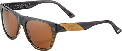 100% Mens Fade Higgins Sunglasses (Carbon,One Size Fits - Sunglasses Shop Size By