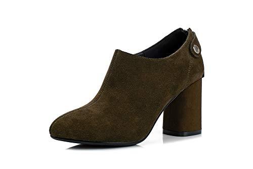 Mms06624 Mujer Marrón Uretano Para 1to9 Zapatos De Tacón TAWqdq1wY