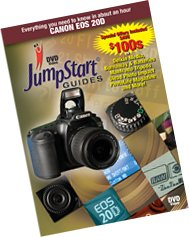JumpStart Video Training Guide on DVD for the Canon 20D Digital Camera. - Jumpstart Video Training Guide