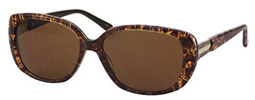Elizabeth Arden Sunglasses for Women Brown Plastic Cat Shape Sunglasses - Sunglasses Elizabeth